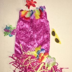 "Girls 18"" Hawaiian Doll Outfit"